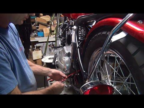 1970 xlch #134 bobber new build repair rigid chopper xl ironhead sportster harley wiring