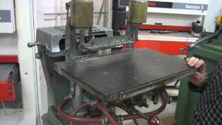 SOLD-Newton Boring Machine Model BA-600, US0186