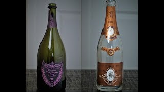 Episode 8:  2004 Dom Perignon Rose vs 2006 Cristal Rose