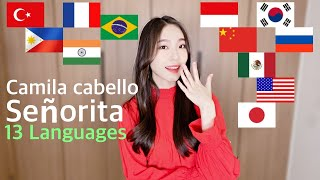 Señorita - 1 GIRL 13 different Languages Multi-Language (cover by MiRae Lee)