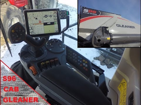 Gleaner S9 Series Combine Cab - Tyton Terminal & More!