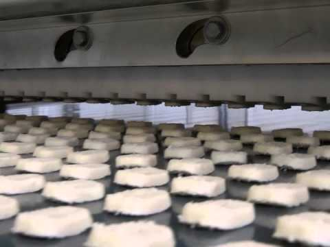 POLIN Industrial - pro BAKE Wire Cutter Cookie Depositor - YouTube
