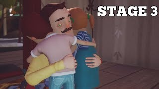 HELLO NEIGHBOR HIDE & SEEK STAGE 3 WALKTHROUGH