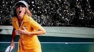 Bridesmaids Tennis Court Scene
