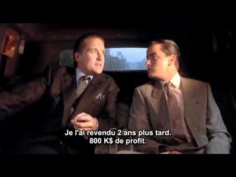 Wall Streets - Gordon gekko (Michael Douglas) & Bud Fox (Charlie Sheen), Car Scene.