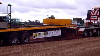Heanor Haulage FH 16 tractor pullin sledge