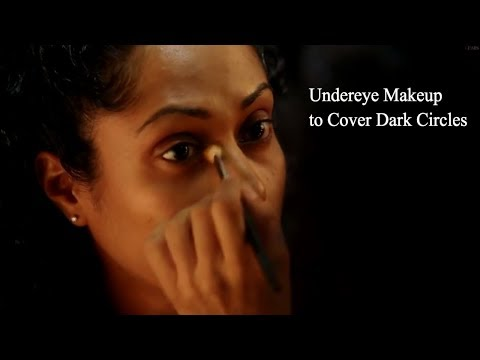 How to Cover Dark Circles Undereye Makeup