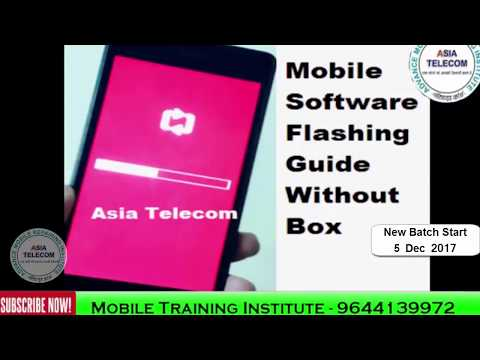 [Hindi/Urdu] Learn How to flash all branded Mobile flashing with USB   Asia Telecom Course detail  