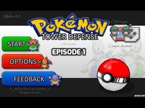 Lets Play Pokemon Tower Defense Two (Part 1)