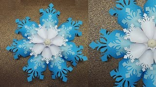 How Beautiful it is to Make a Paper Snowflake | Paper Snowflakes Tutorial