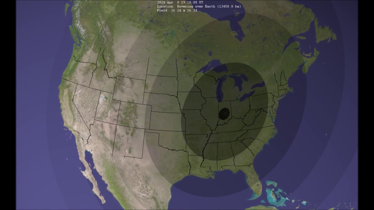 April 8 2024 Total Solar Eclipse Youtube