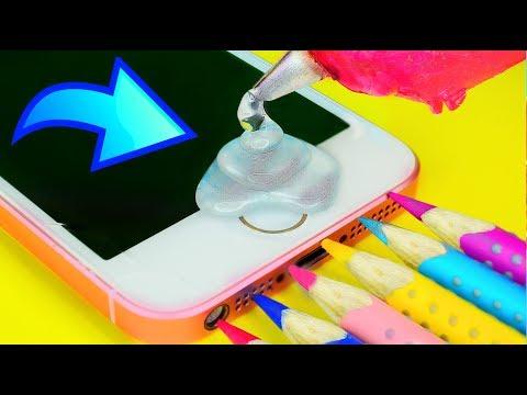 ЛАЙФХАКИ + DIY ДЛЯ ТЕЛЕФОНА ( ДЛЯ АНДРОИДА И АЙФОНА) ПОЛЕЗНЫЕ И НЕВЕРОЯТНЫЕ/ iPhone/ Android HACKS