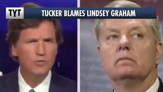 Tucker Carlson: Woodward's Trump Book Is Lindsey Graham's Fault