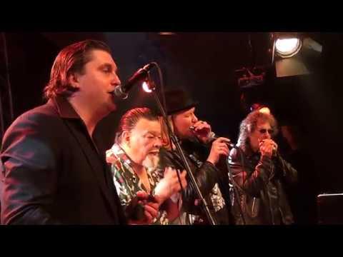 "James Harman, Magic Dick, Giles Robson & Big Pete  - ""Nine Below Zero"" @Moulin Blues 2017"