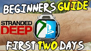Download STRANDED DEEP PS4 Beginners Guide Walkthrough! Tip To Survive The First 2 Days! Xbox One