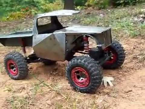 Rc Custom 2 2 Scale Truck Build Metal Unibody 4x4x4 Diy