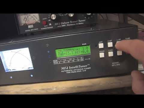 MFJ-998 Auto Tuner
