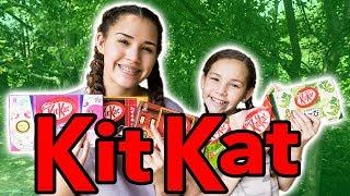 Kit Kat Challenge - We Talked To A Bird!!!