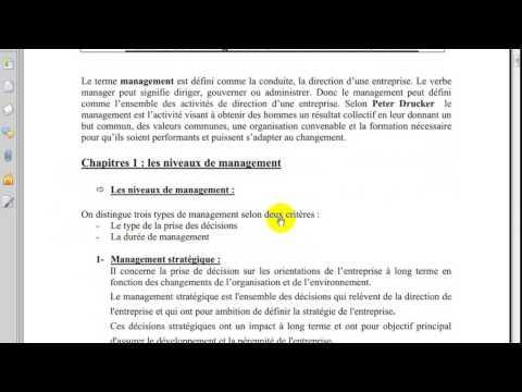 Management S2 partie 1