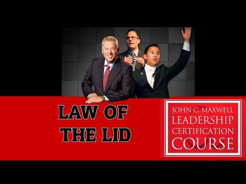 Leadership Law #1: The Law of The Lid- Timothy Herr