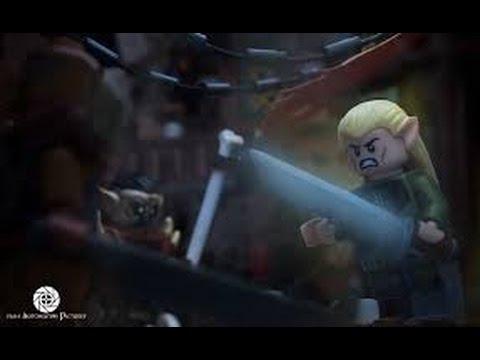 Legolas vs Bolg - YouTube