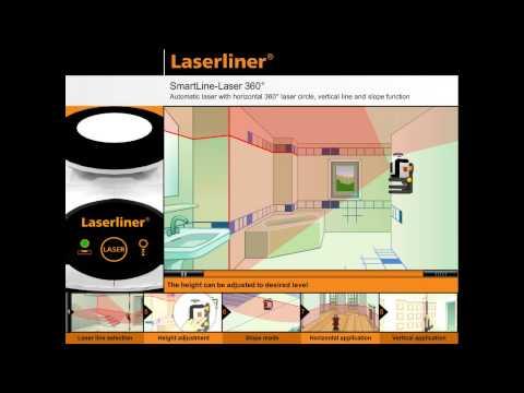 Лазерен нивелир LASERLINER SmartLine-Laser 360° set #cB8KPHTXGek