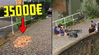 Taiteilija jättää 15 000 kolikkoa kadulle - Miten ihmiset reagoivat?