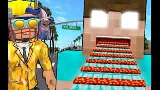 HEROBRINE ÜLDÖZ A ROBLOXBAN!!! Roblox Minecraft Obby