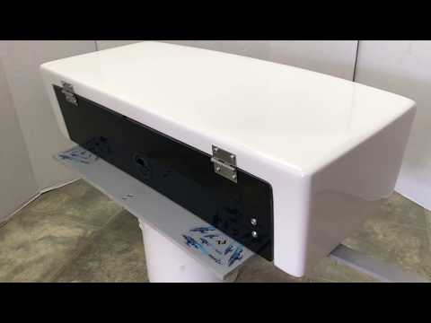 "31"" Marine Fiberglass Direct Electronic Box with Stainless Steel Hinge"