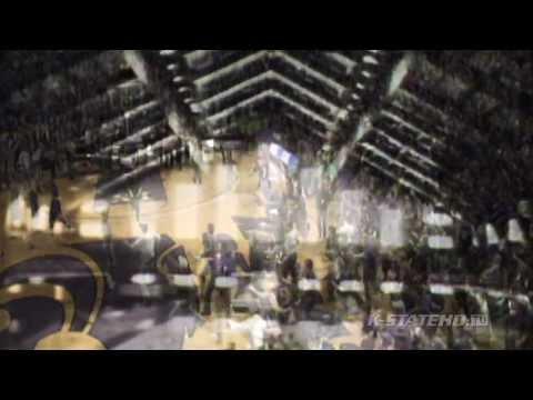 K-State Basketball   Bramlage Coliseum Banner Video
