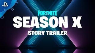 Fortnite - Season X: Story Trailer | PS4