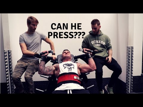 Shoulder Pressing People At Pure Gym Sunderland