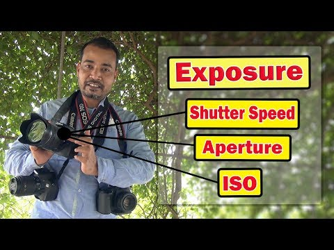 Exposure Explained Simply - Aperture, Shutter Speed, ISO, Photovision