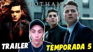 GOTHAM TEMPORADA 5 TRAILER - Bruce y Gordon, Riddler y Iceberg Lounge REACCIÓN!