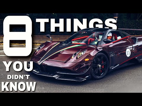 8 THINGS YOU DIDN´T KNOW about the PAGANI HUAYRA BC | All 27 of 20 BCs?!