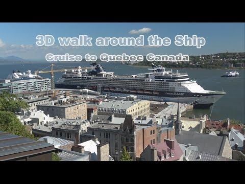 Celebrity Summit Walking Tour in 3D