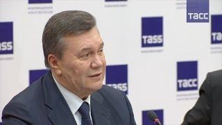 Виктор Янукович жестко ответил на вопрос журналиста украинского телеканала СТБ