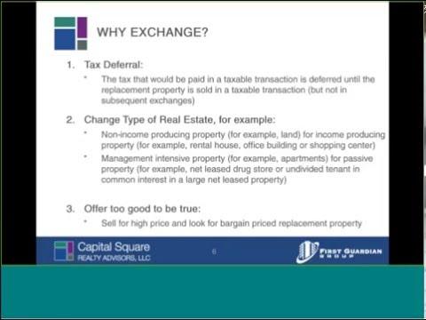 1031 Tax Strategies - Louis Rogers of Capital Square