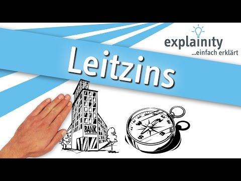 Leitzins einfach erklärt (explainity® Erklärvideo)
