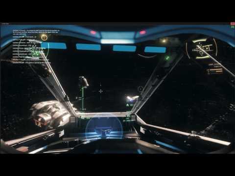 Star Citizen - PU hunting multi crew ships