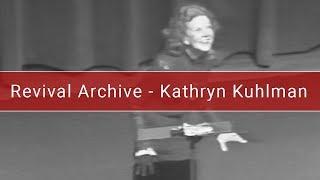 Kathryn Kuhlman   Just Jesus   Mabee Center  1974