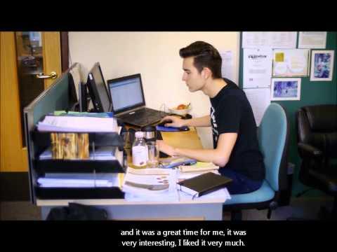 Student's experience of English internship