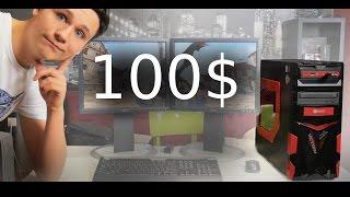 můj počítač za 100$ / stavba + test