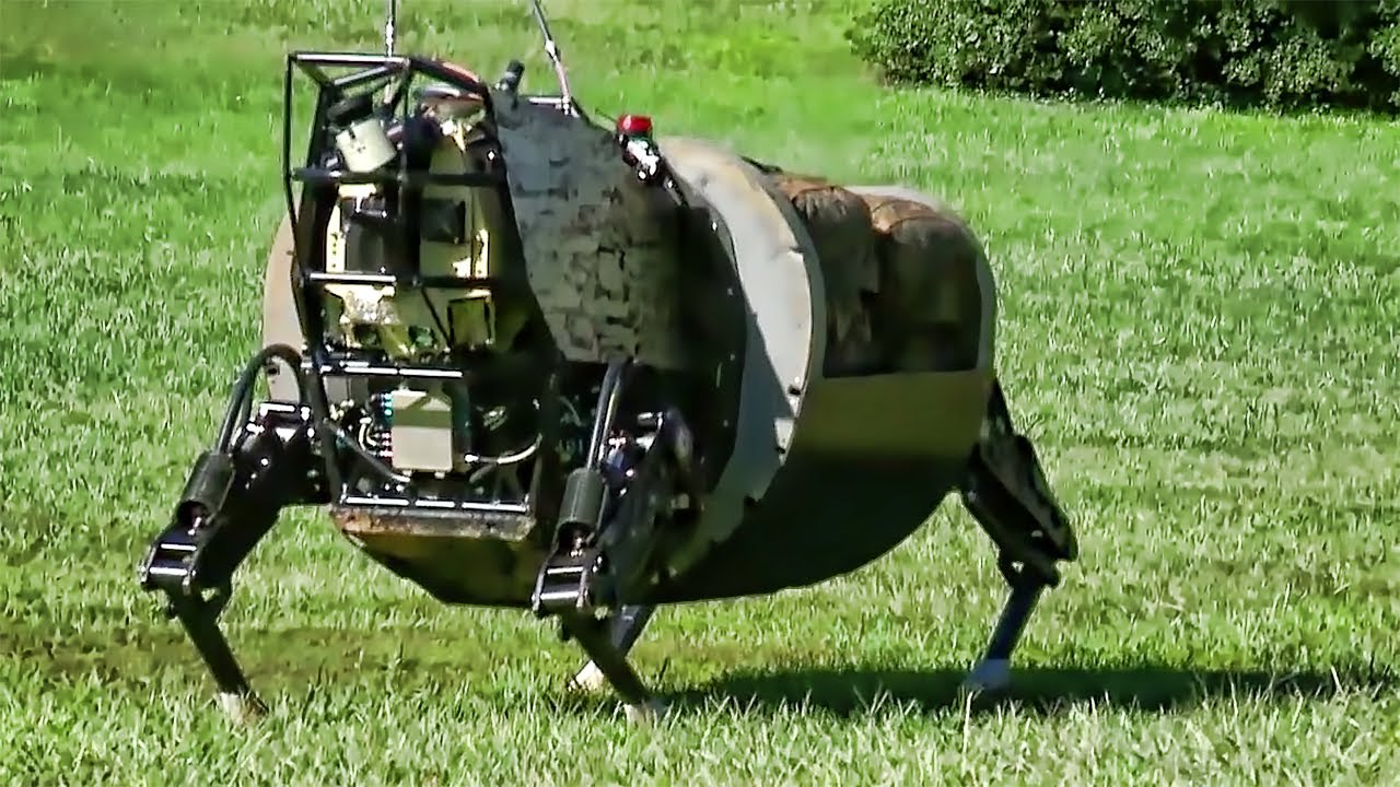 Robot Pack Mule - Military Prototype - YouTube