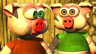 Three Little Piggies - The Farm Songs for Kids, Children's Music