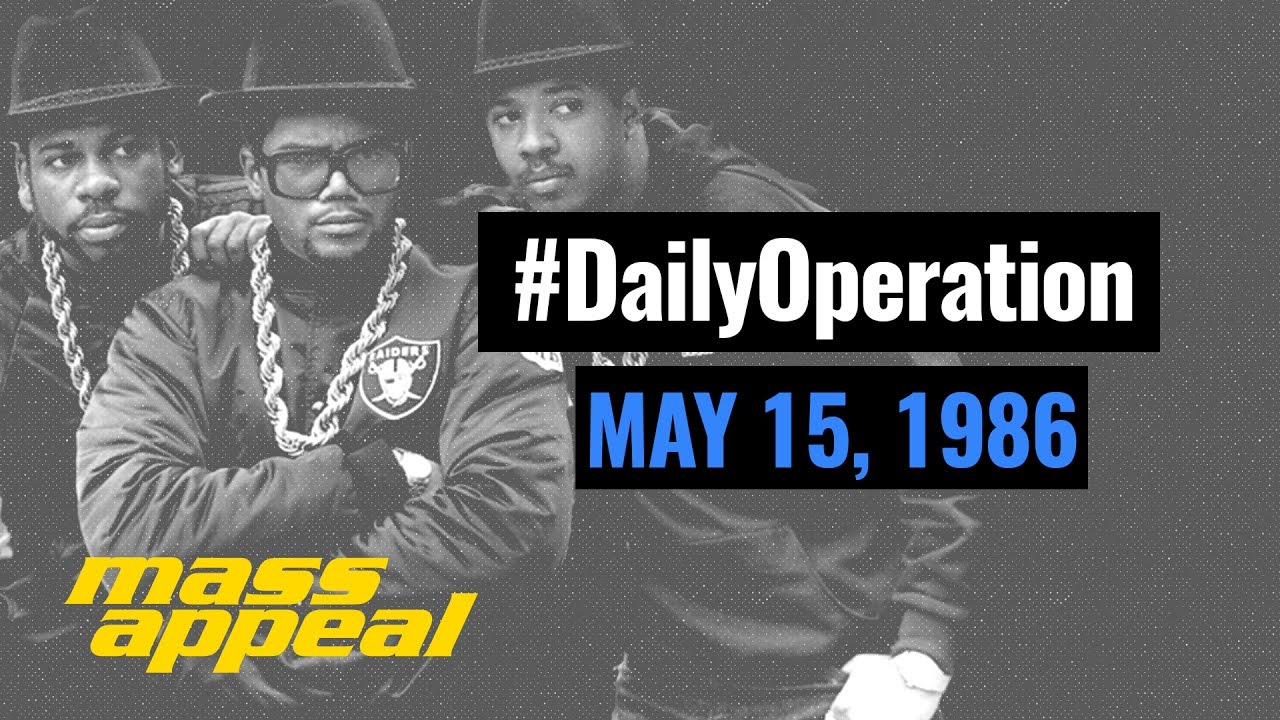 Daily Operation: Run DMC Raises Hell (May 15, 1986)
