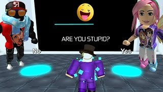 ROBLOX: We're stupid???