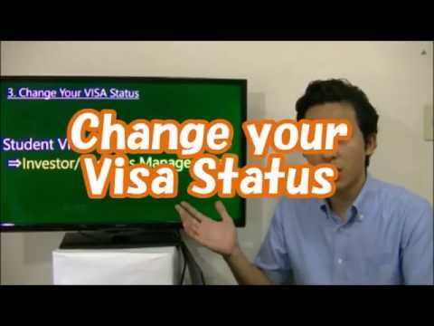 #016 Change your Visa Status - Start Business in Tokyo