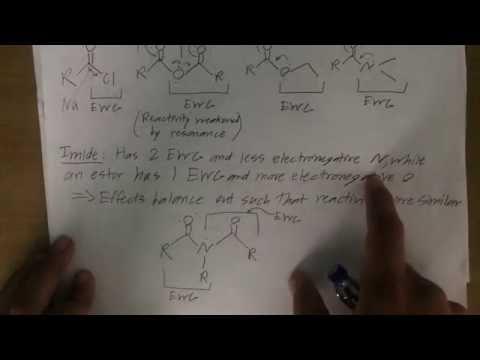 Reactivity of Carboxylic Acid Derivatives