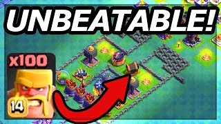 NEVER LOST! This Clash of Clans Troll Base Can't be Beaten!